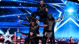 ALLin Dance Crew bring Game of Thrones to BGT | Auditions Week 6 | Britain's Got Talent 2017