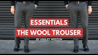 Wool Trousers And Pants - Mens Wardrobe Essentials - Dress Pants, Slacks, Dress Trousers