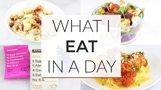 What I Eat In A Day | Working From Home