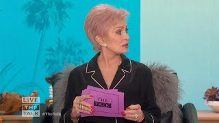 The Talk - Sharon Osbourne on Prince William and Prince Harry's Rift in New Royal Book