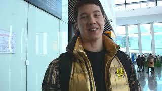 Мадияр Ибрайбеков перед вылетом в Красноярск/Универсиада 2019