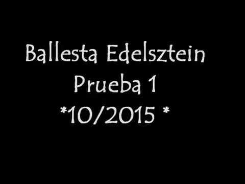 Ballesta Edelsztein Prueba 1