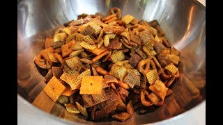 Chex Mix Recipe: How To Make Chex Mix (Trail Mix)   DIY Snacks