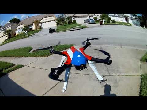 Bugs 3 battery and test flight from BANGGOOD