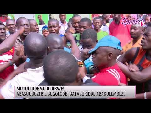 Abasuubuzi b'e Bugoloobi batabukidde abakulembeze baabwe