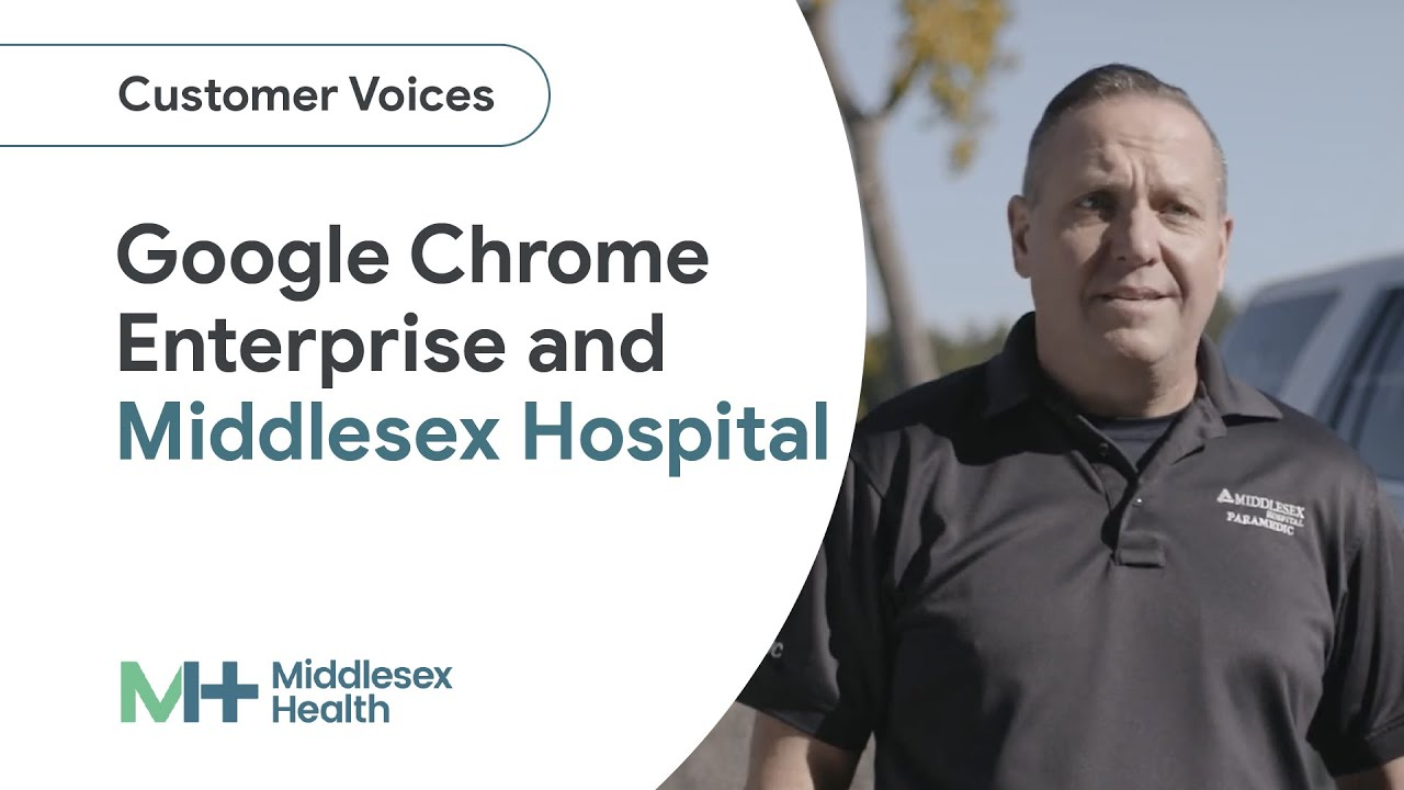 Whether responding to a 911 call or tracking patient care, healthcare providers at Middlesex Hospital rely on the flexibility and security of Chrome Enterprise to put the focus back on patients.