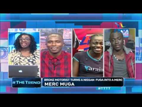 Kenyans read broke from Oliech haircut #TTTT