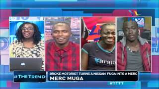 Kenyans read broke from Oliech haircut #TTTT