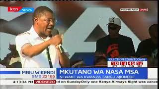 Mbiu ya Ktn full bulletin 2017/10/15-Mkutano wa NASA
