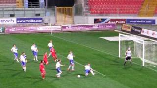 Malta Vs Finland - Penalty Missed By Michael Mifsud