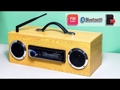 Building Multi-function Bluetooth Speaker/FM Radio/MP3 Player