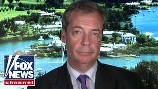 Nigel Farage blasts Sadiq Khan for Trump blimp