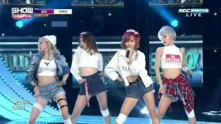 [Debut] 161026 Bulldok (불독) - Why Not (어때요) @ Show Champion (x265)