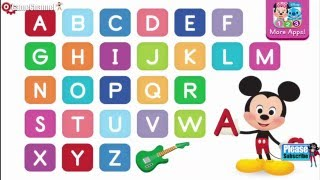 Disney Buddies Mickey Mouse ABCs Education Alphabet Games Mickey Learning Alphabet