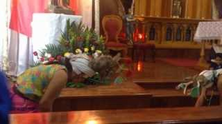 preview picture of video 'danza del venado en parroquia santa barbara santa rosalia bcs'