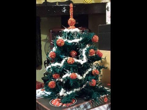 Albero Di Natale Alluncinetto Semplicissimo.Albero Di Natale All Uncinetto Maryj Handmade Smotret Onlajn Na