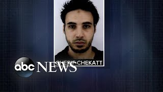 Suspect sought in deadly terror attack near French market