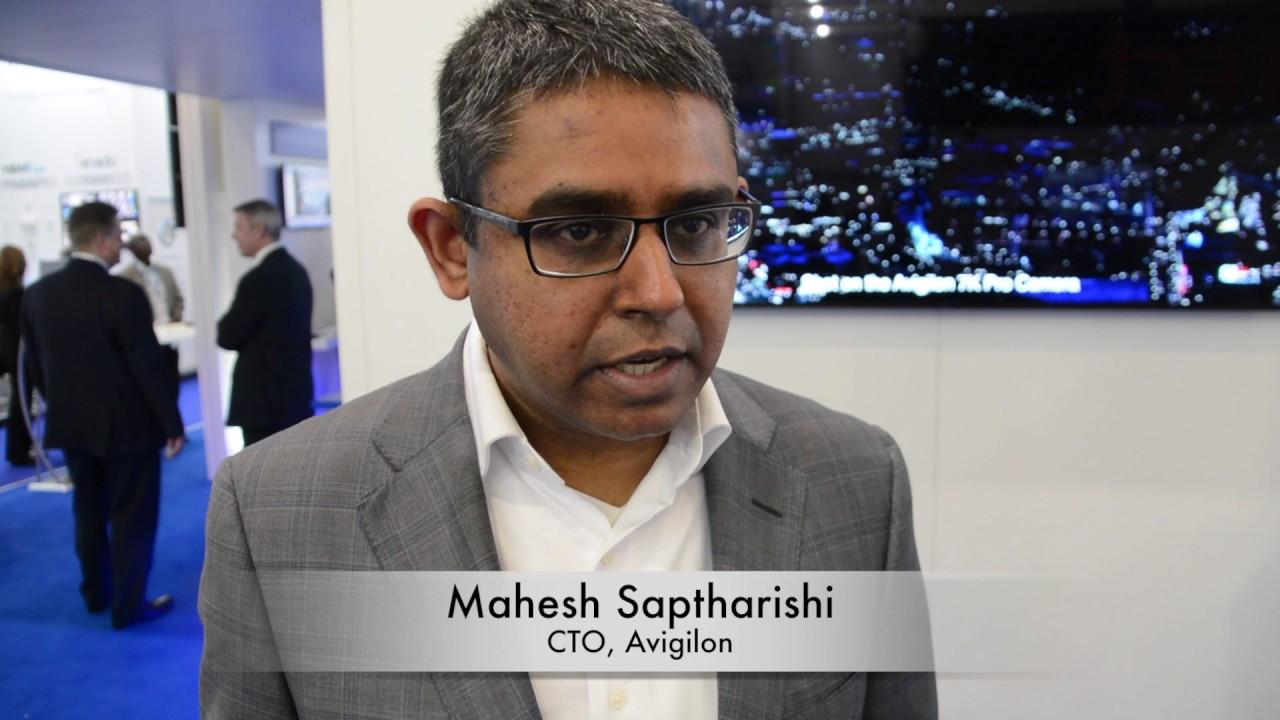 "Mahesh Saptharishi, Avigilon: ""The industry appreciates our patent license program"""