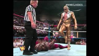 Ahmed Johnson vs Goldust KOTR 1996