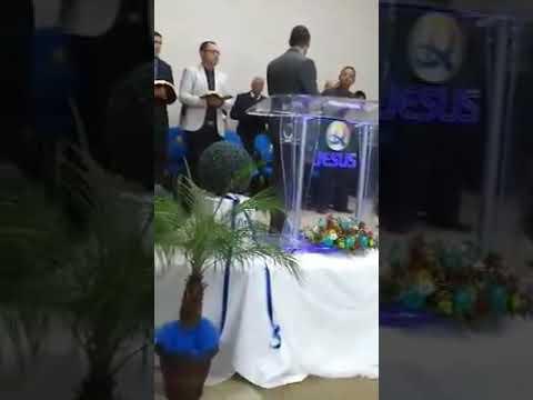 Pastor André Luiz santos Congresso de missões em Águas de Chapecó SC