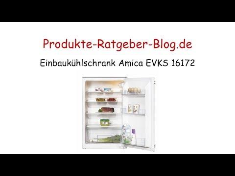 Test Einbaukühlschrank Amica EVKS 16172