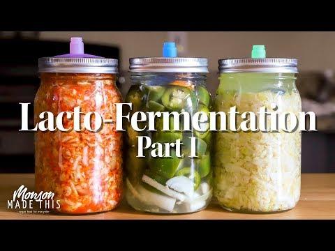Easy Lacto-Fermentation Pat 1 – Sauerkraut Kimchi Dill Pickles Jalapeno Hot Sauce