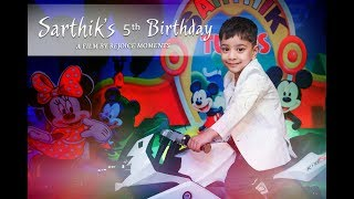 5th birthday cinematic video - मुफ्त ऑनलाइन