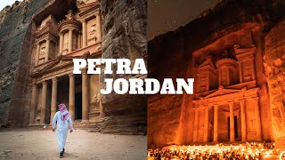 PETRA: THE ANCIENT LOST CITY!   PETRA, JORDAN TRAVEL VLOG