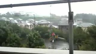 台風15号!