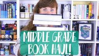 BIG MIDDLE GRADE BOOK HAUL!