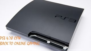 PS3 4.78 CFW Back to online gaming