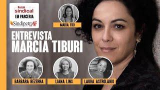Fórum Sindical: Barbara Bezerra entrevista Márcia Tiburi