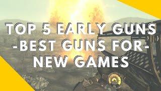 Fallout 4 - Best Guns When Starting a New Game - Top 5 Early Guns