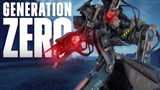 IMMERSIVE, ROBOTIC OPEN WORLD SHOOTER! Generation Zero Gameplay Episode 1