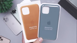 Apple iPhone 11 Pro Silicone & Leather Cases Review! Worth It?