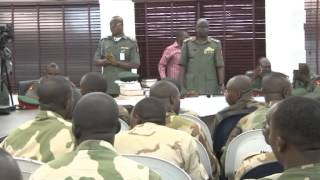 Trial of Soldiers Charged For Mutiny