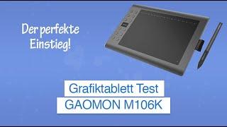 Grafiktablett GAOMON M106K im Test inkl. Software Erklärung