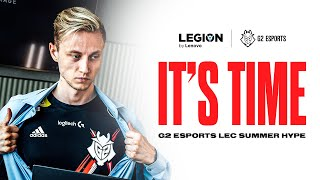 « IT'S TIME » G2 Esports LEC Summer Hype 2021