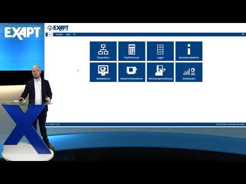 EXAPT Digital Shopfloor mit EXAPTsmartcontrol