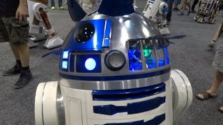 Star Wars Celebration exhibit hall and booth highlights 2017 in Orlando