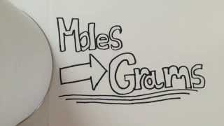 How To: Convert From Moles To Grams (w/ Practice Problems)