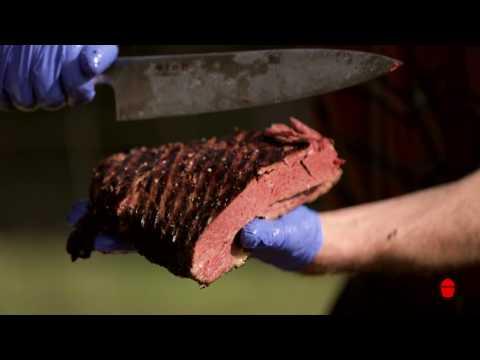 Kamado Joe Smoked Corned Beef Brisket
