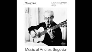 (Andres Segovia, Composer)  Macarena