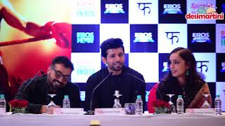Mukkabaaz Press conference Delhi | Full Video |