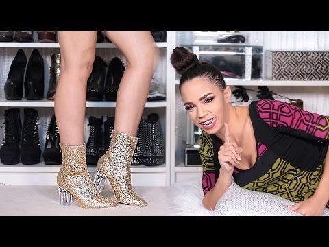 BIG FALL SHOE HAUL! 30 Shoe Trends, Boots, Lucite, Flats, Heels – 2016 Fall Shoe Trends