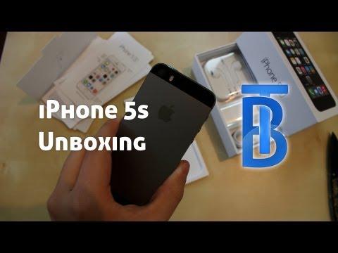 Unboxing: Apple iPhone 5s - Spacegrau - 64GB [German/Deutsch]
