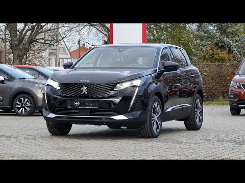 Peugeot 3008 Facelift Allure 1.2 PureTech 130 EAT8 Perla Nera Black
