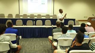 Bo Porter Speech at Dodgertown MLB Invitational