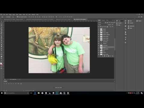 Photoshop Tutorial No. 04 | Bringing Photos Into Templates