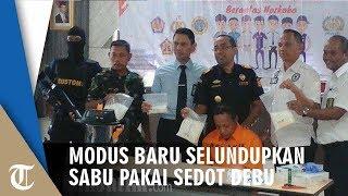 Modus Baru Penyelundupan Sabu, Pria Ini Selundupkan Sabu Asal Malaysia Menggunakan Alat Ini